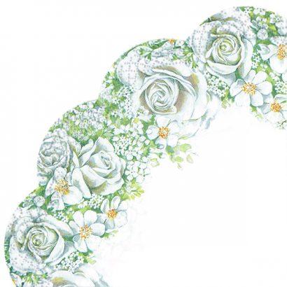 ROMANTIC ROSES – Rondo napkins