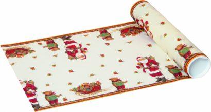 Santa and Teddy – Table runner