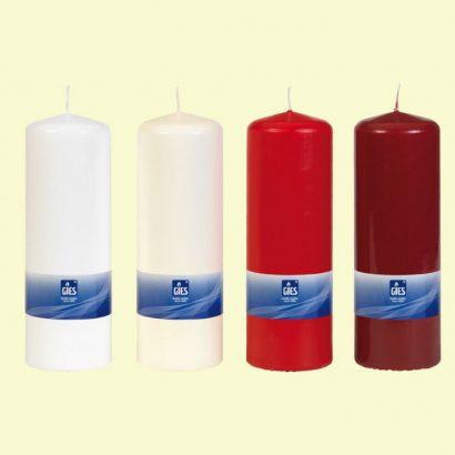 Pillar Candles 70 × 200 mm