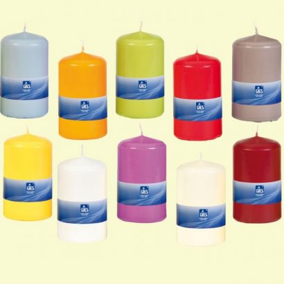 Pillar Candles 60 x 100 mm
