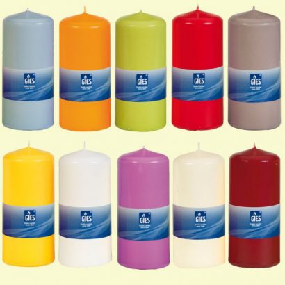 Pillar candles 60×160 mm