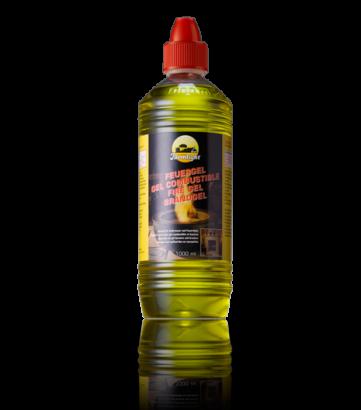 Fire gel yellow