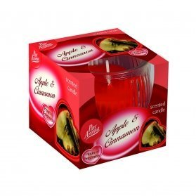 Scented Swirl Candle – Apple & Cinnamon