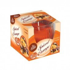 Scented Swirl Candle – Spiced Orange