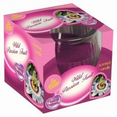 Scented Swirl Candle – Wild Passion Fruit
