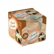 Scented Swirl Candle – French Vanilla