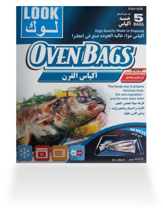 Look Oven Bags for Roasting – Fish Size