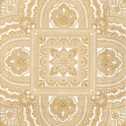 CLASSIQUE cream gold – Lunch napkins