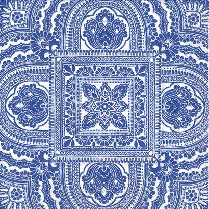 CLASSIQUE white blue – Cocktail napkins