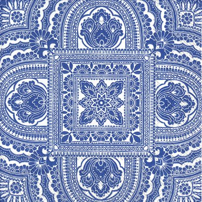 CLASSIQUE white blue – Lunch napkins