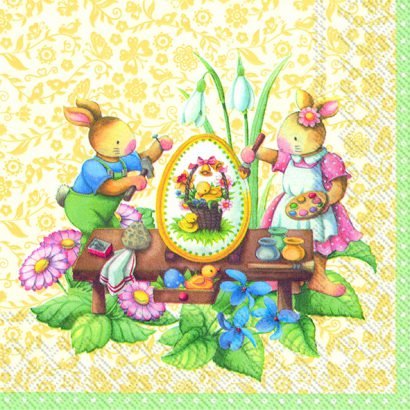 Easter spring fantasy (V&B) – Lunch napkins