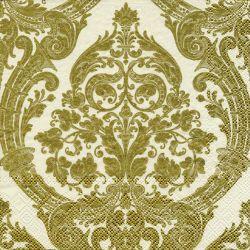 GRANDEUR gold creme – Cocktail napkins
