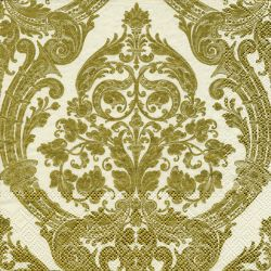 GRANDEUR gold creme – Lunch napkins