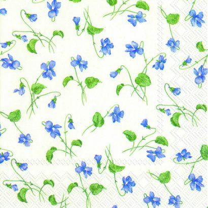 Viola riviniana white – Lunch napkins