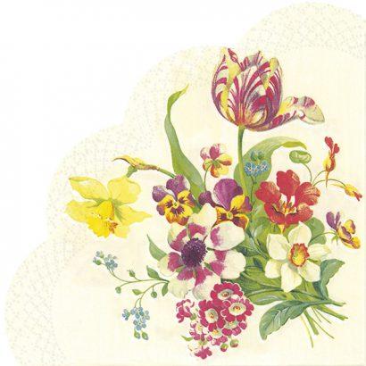Welcome spring cream – Rondo napkins