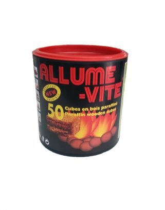 Allume Vite Firelighter Cubes – 50 Pieces