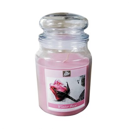 Jars candles – Winter rose