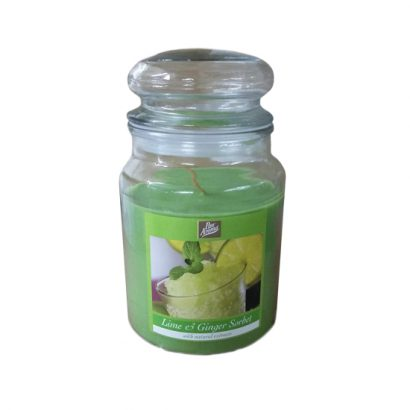 Jars candles – Lime & ginger